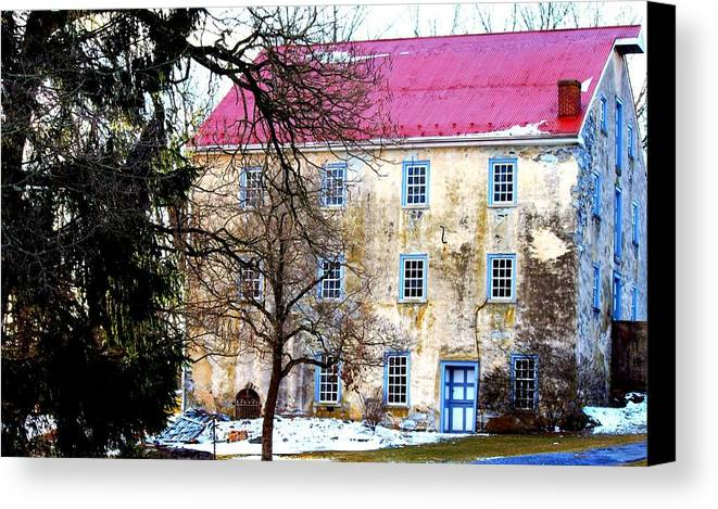 Home Canvas Print featuring the photograph Home by Noel Christman