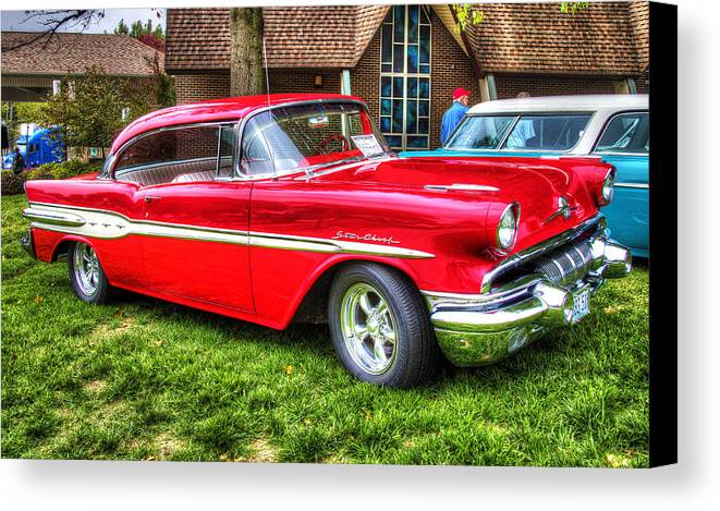 Car Canvas Print featuring the photograph Pontiac Starchief by John Derby