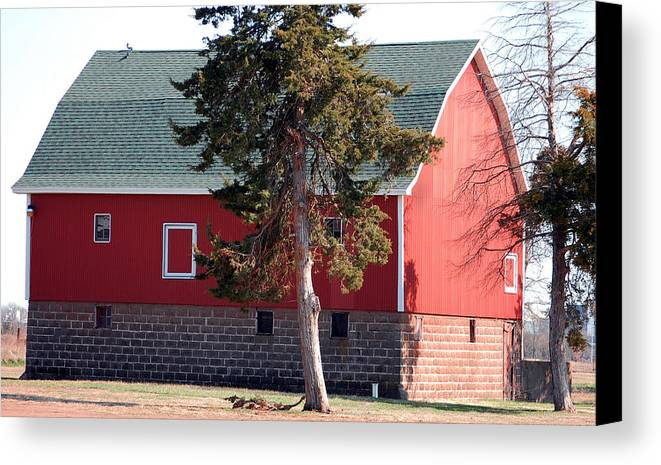 Barn Canvas Print featuring the photograph Family Barn by Jame Hayes
