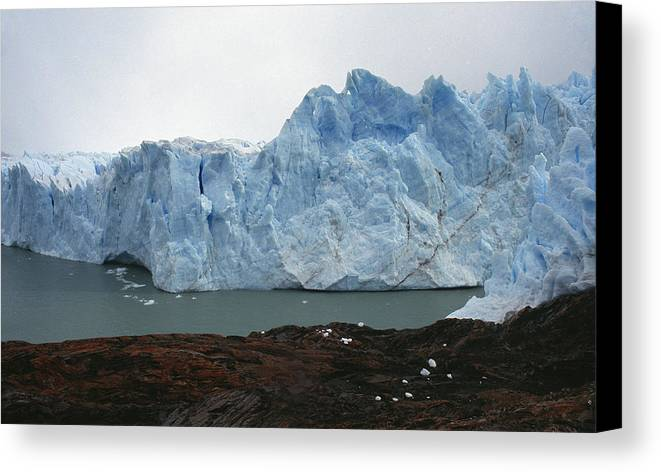 Perito Moreno Canvas Print featuring the photograph Perito Moreno by Marcus Best