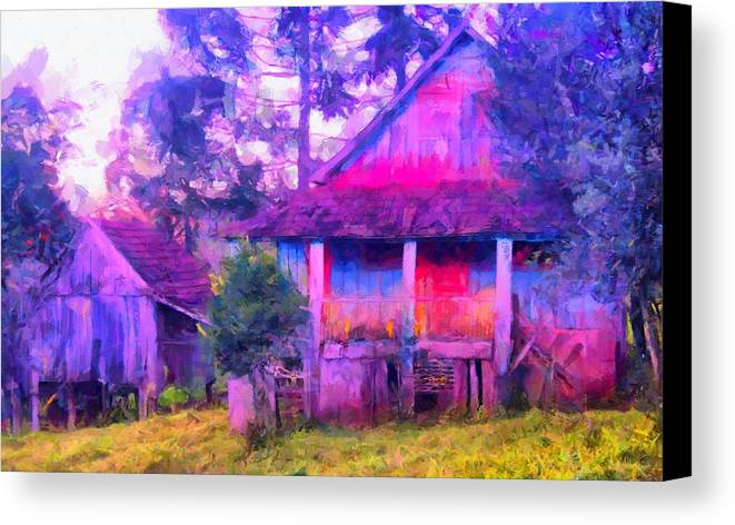 Plank Cabin Art Prints