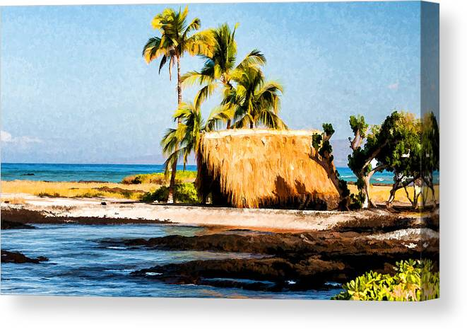 Beach Canvas Print featuring the photograph A Place To Relax by Sabine Edrissi