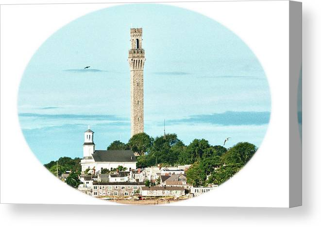 Seascape Canvas Print featuring the photograph Provincetown by Linda Pulvermacher