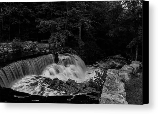 Landscape Canvas Print featuring the photograph Beauty In Black And White by Barbara Blanchard
