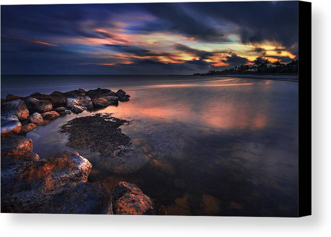 Sky Canvas Print featuring the photograph Dreamscape by Alexandru Popovschi