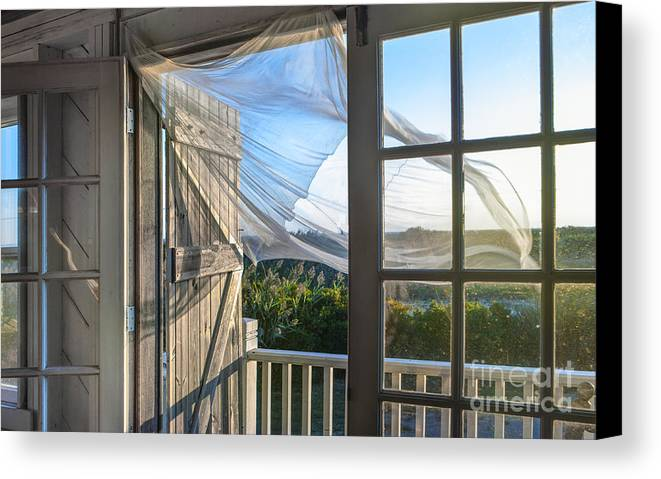 Morning breeze at the beach house canvas print canvas for Beach house prints