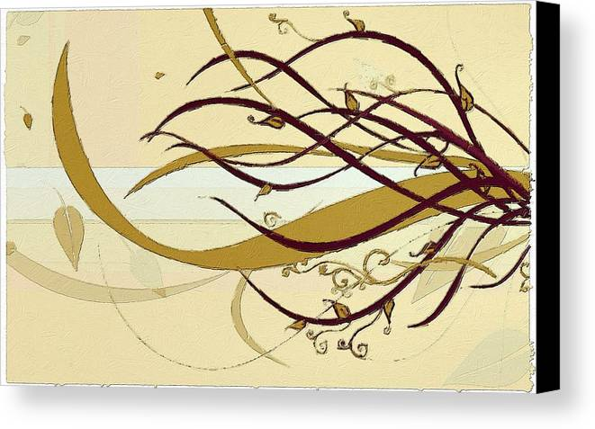 Still Canvas Print featuring the painting Still Branches Of Life by Florian Rodarte