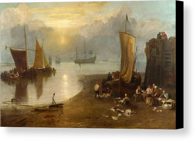 1807 Canvas Print featuring the painting Sun Rising Through Vagour by JMW Turner