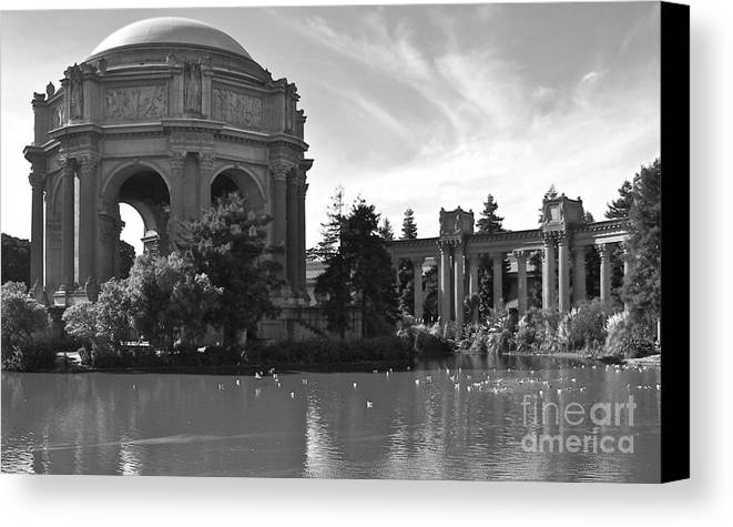 California Canvas Print featuring the photograph Palace Of Fine Arts Theatre by Carol Bradley