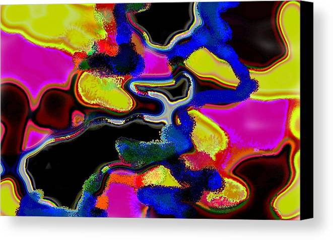 Jgyoungmd Canvas Print featuring the digital art 91715b by Jgyoungmd Aka John G Young MD
