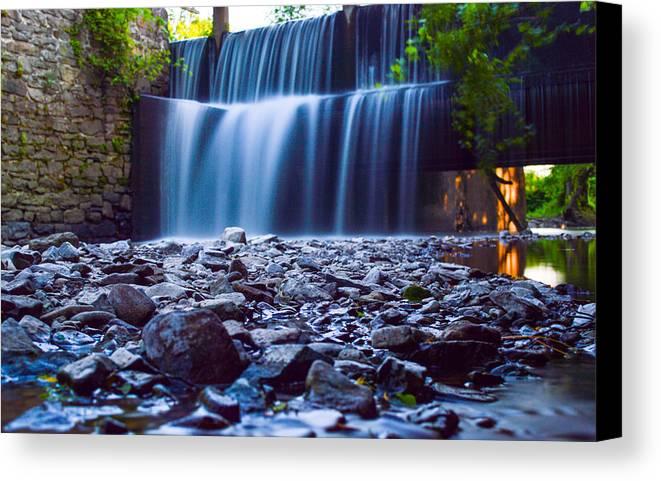 Canvas Print featuring the photograph Alexahucen Creek by Matt Stover