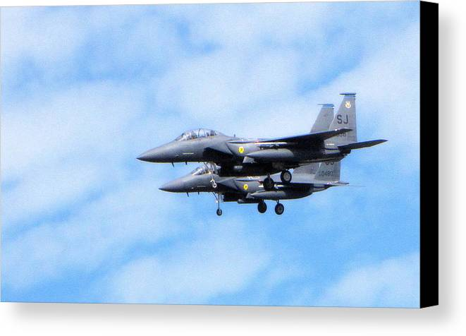 Jet Canvas Print featuring the photograph Img_9906 - Jet by Travis Truelove