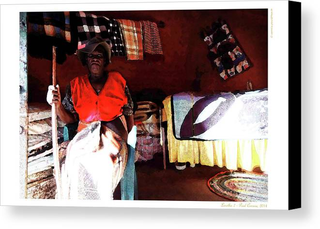 Lesotho Canvas Print featuring the photograph Lesotho 2 by Polo Correia