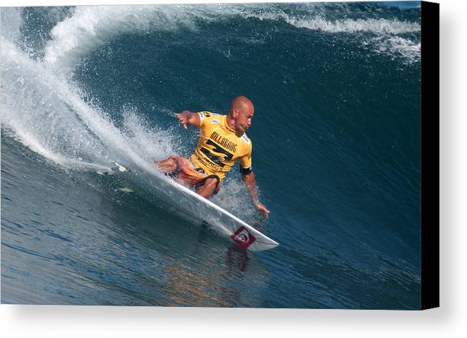 Kelly Slater Canvas Print featuring the photograph Smooth Operator by Kevin Smith