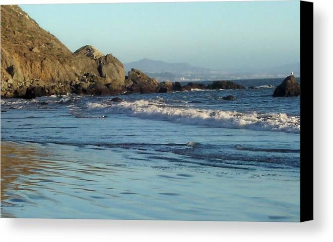 Beach Canvas Print featuring the photograph The Beach 2 by Elizabeth Klecker