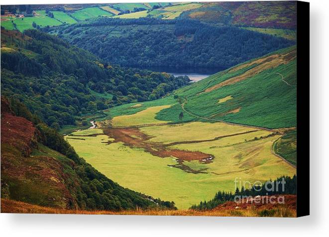 Ireland Photography Wicklow Photography Landscape Photography Rural Photography Beauty Of Nature Photography Dramatic Landscape Photography Metal Frame Suggested Canvas Print Very Suitable Poster Print Duvet Cover Art Throw Pillow Art Tote Bag Art T Shirt Art Shower Curtain Art Canvas Print featuring the photograph The Sally Gap Wicklow by Poet's Eye