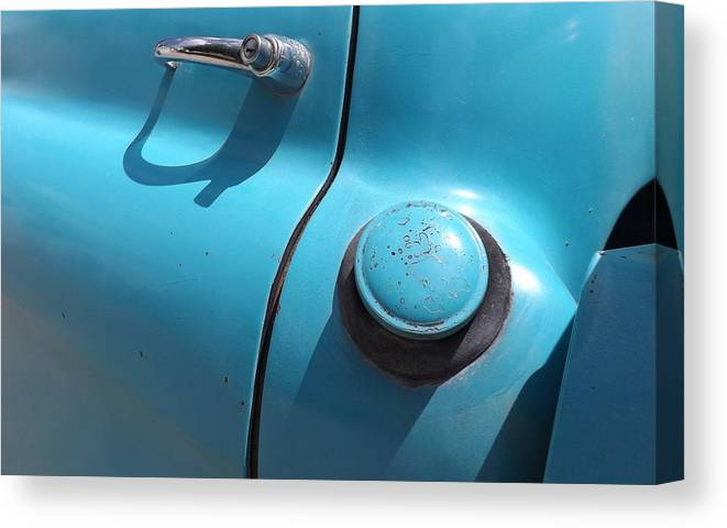 Fill Er Up Canvas Print featuring the photograph Fill Er Up by Elizabeth Sullivan
