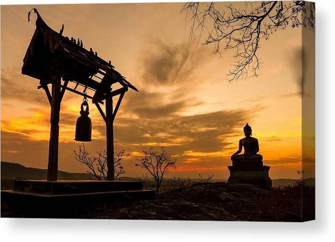 Keller Canvas Print featuring the photograph Meditation by Shawn Hughes