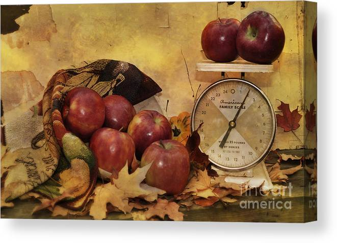 Autumn Canvas Print featuring the photograph By The Pound by Kathy Jennings