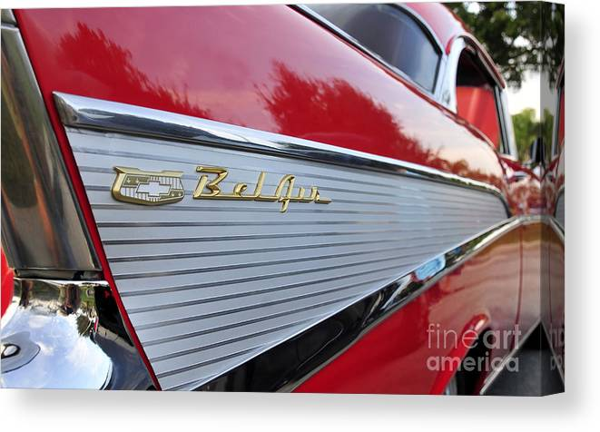 Fins Canvas Print featuring the photograph Classic Fins by David Lee Thompson