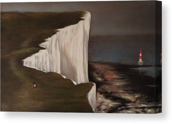 Dover Canvas Print featuring the painting Dover by Jacob Cane