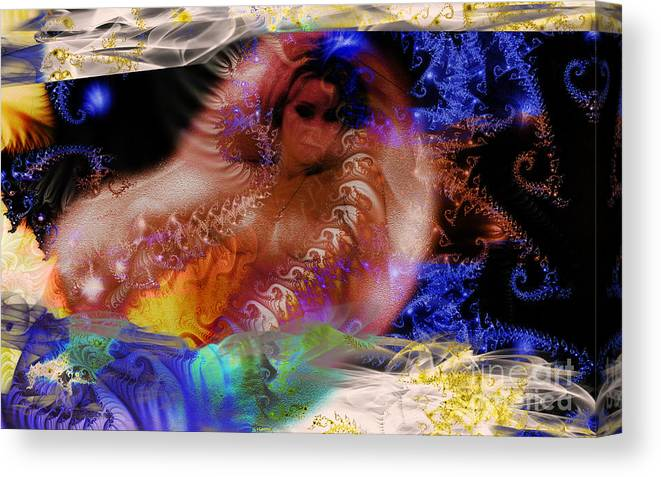 Clay Canvas Print featuring the photograph Journey To The Centre Of Man's Mind by Clayton Bruster