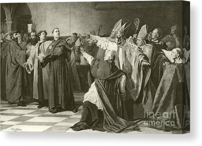 martin luther before the council of worms canvas print canvas art