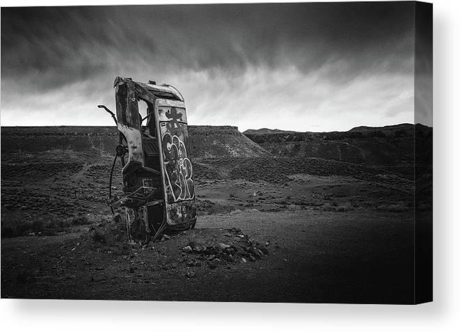 Nevada Canvas Print featuring the photograph Valet Parking by Joseph Smith