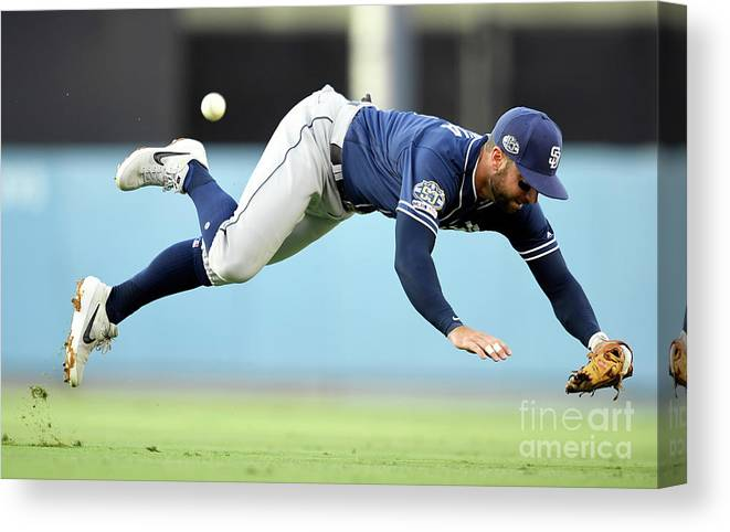 People Canvas Print featuring the photograph Greg Garcia And Alex Verdugo by John Mccoy