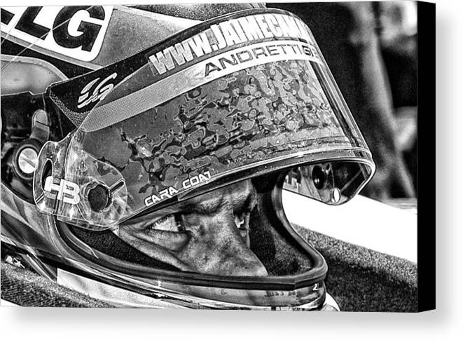 Andretti Canvas Print featuring the photograph Andretti by Kevin Cable