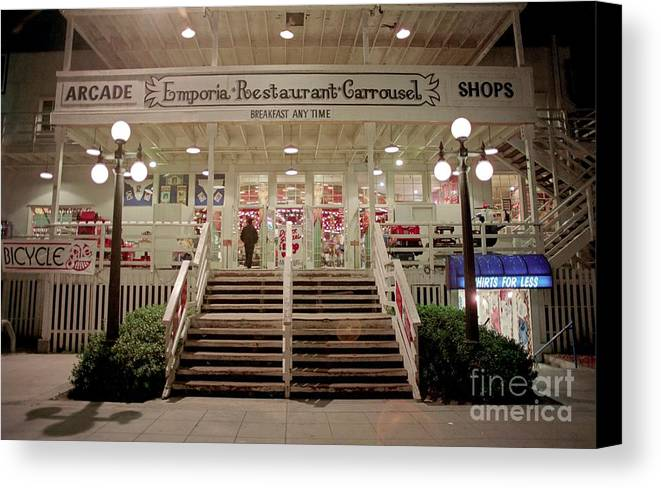 Monterey Canvas Print featuring the photograph Back Door Of The Edgewater Packing Company by James B & Back Door Of The Edgewater Packing Company Canvas Print / Canvas Art ...