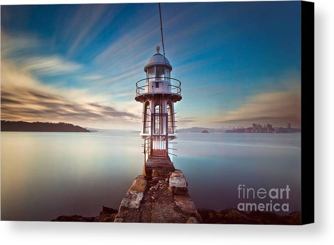 Cremorne Canvas Print featuring the photograph Cremorne Point Sydney #2 by Paul Boulter
