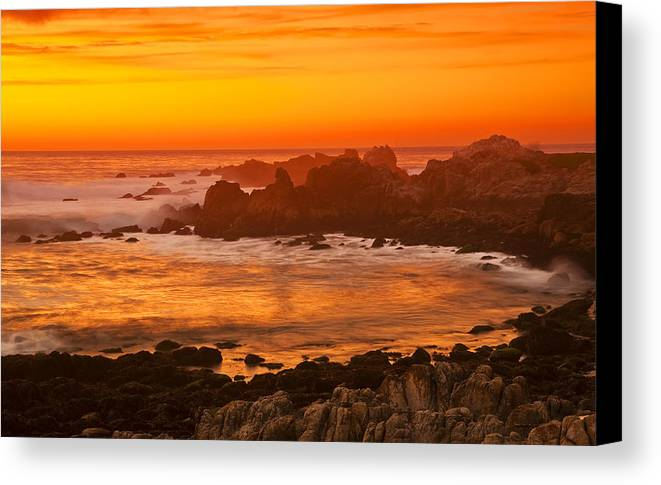The Cove Canvas Print featuring the photograph The Cove by Calvin Lu Photography