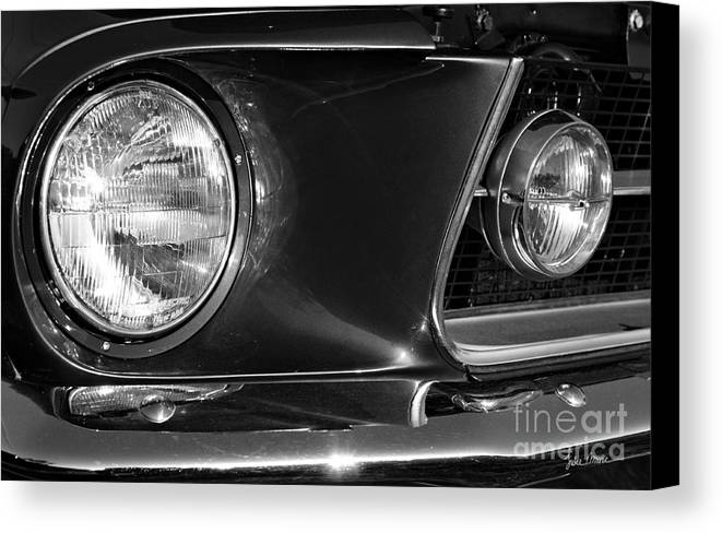 Grill Canvas Print featuring the photograph Burnt Rubber by Luke Moore