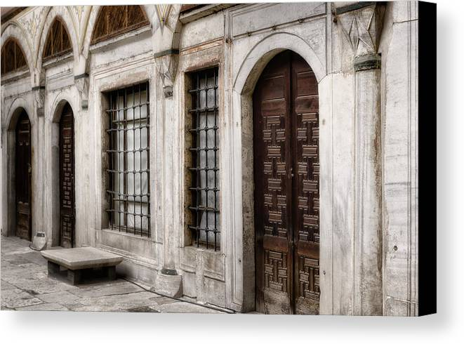Ancient Canvas Print featuring the photograph Concubine Court by Joan Carroll