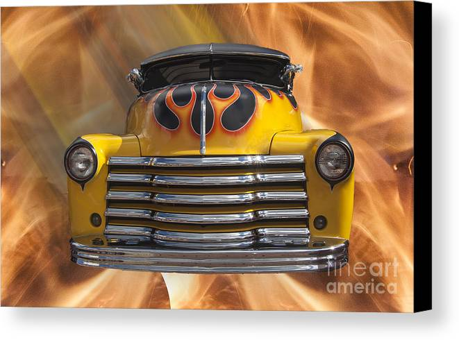 Classic Canvas Print featuring the photograph The Devil's Classic by Darleen Stry