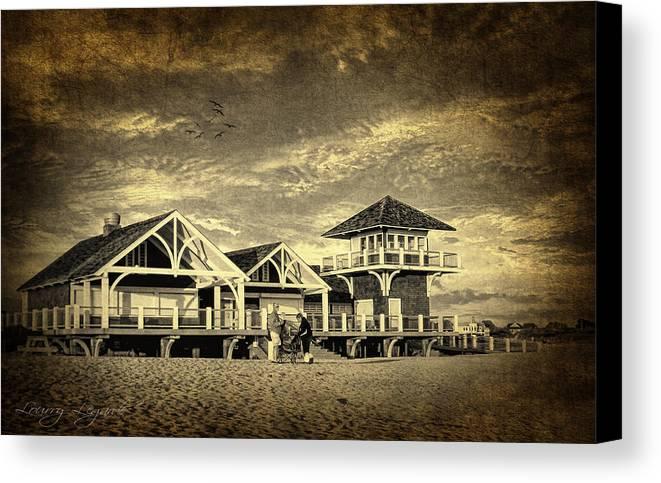 Beach House Canvas Print Canvas Art By Lourry Legarde