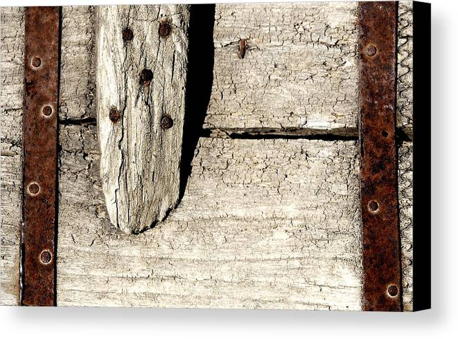 Nail Canvas Print featuring the photograph Abstract by Apurva Madia
