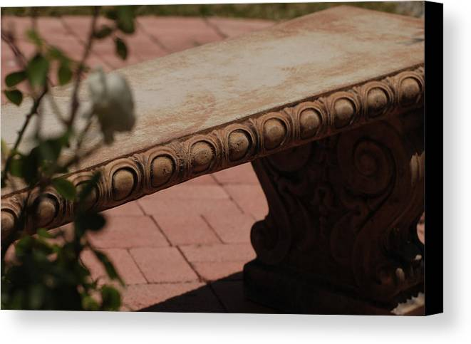 Quiet Canvas Print featuring the photograph Quiet Place by Jean Booth