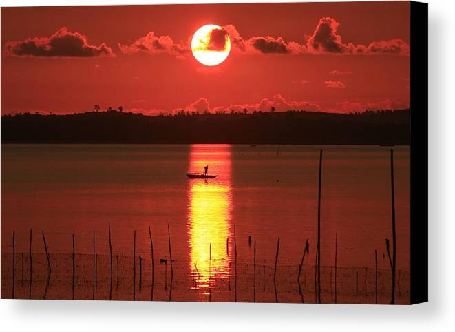 Sunrise Canvas Print featuring the photograph Sunrise by Yuli Seperi