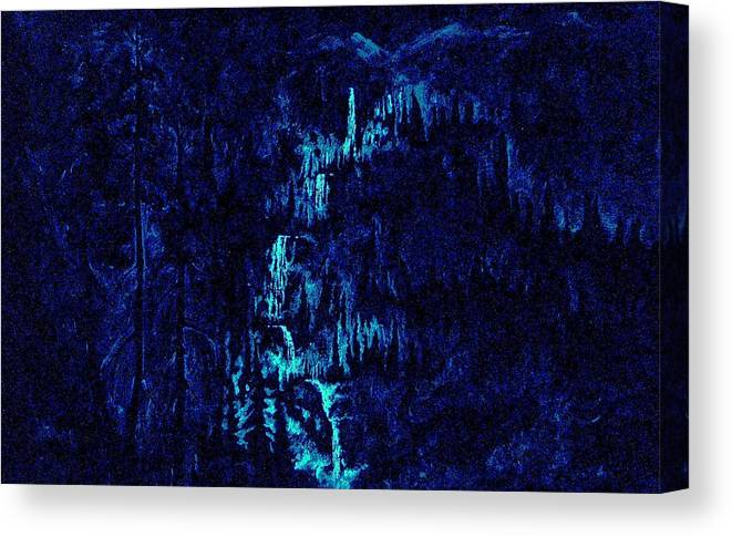 Cosmic Light Series Canvas Print featuring the painting Cosmic Light Series  by Len Sodenkamp