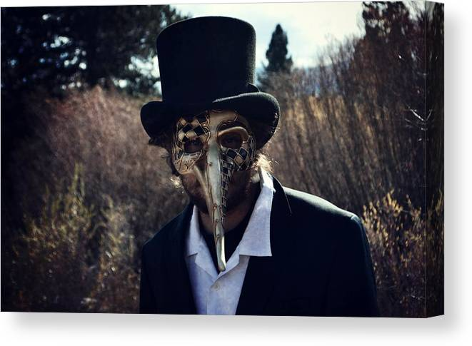 Forest Canvas Print featuring the photograph Loathing by Leah Moore