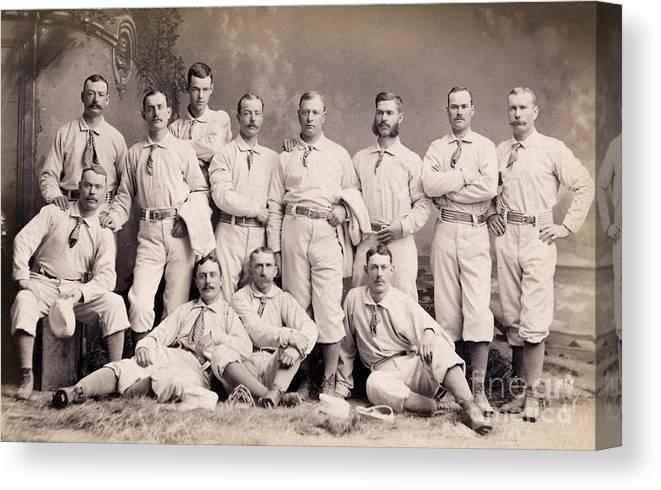 Baseball-other United 1882 New York Metropolitans Team Photo