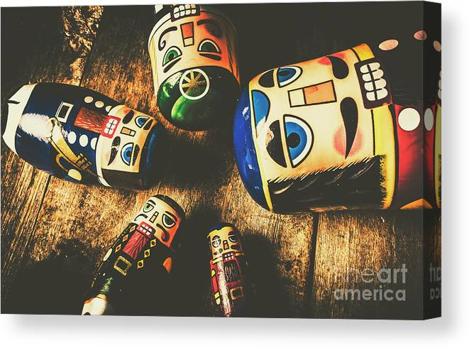 Still Life Canvas Print featuring the photograph Brainstorming Game by Jorgo Photography - Wall Art Gallery
