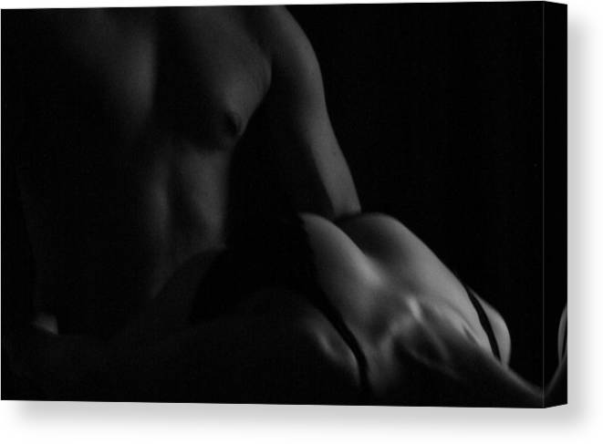 Topless Canvas Print featuring the photograph Passion by MAriO VAllejO