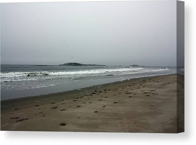 Beach Canvas Print featuring the photograph Rough by Becca Wilcox
