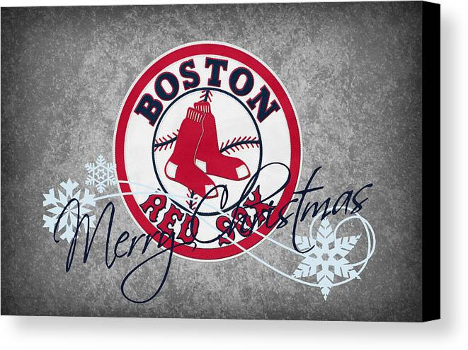 Red Sox Canvas Print featuring the photograph Boston Red Sox by Joe Hamilton