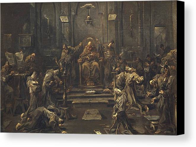 Horizontal Canvas Print featuring the photograph Magnasco, Alessandro 1667-1749 by Everett