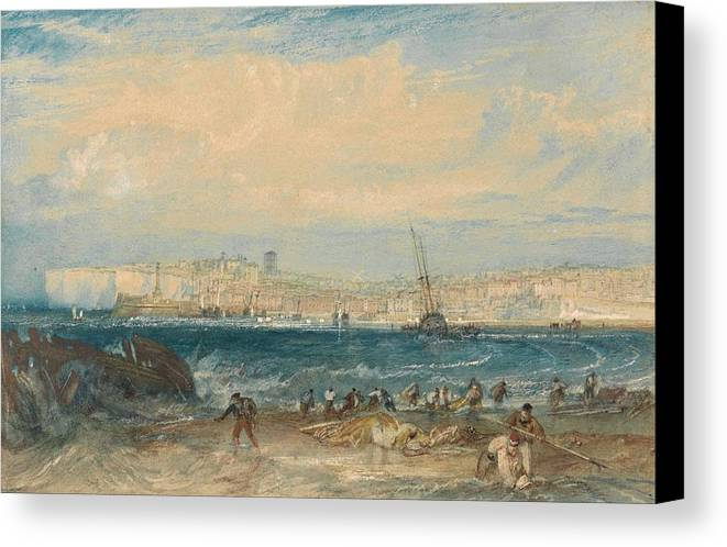 1822 Canvas Print featuring the painting Margate by JMW Turner