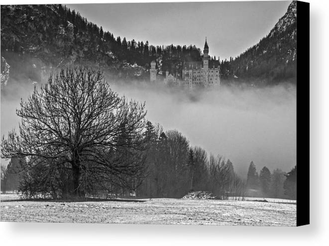 Germany Canvas Print featuring the photograph Ominous by Jim Southwell